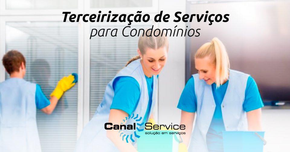 terceirização de serviços para condomínios