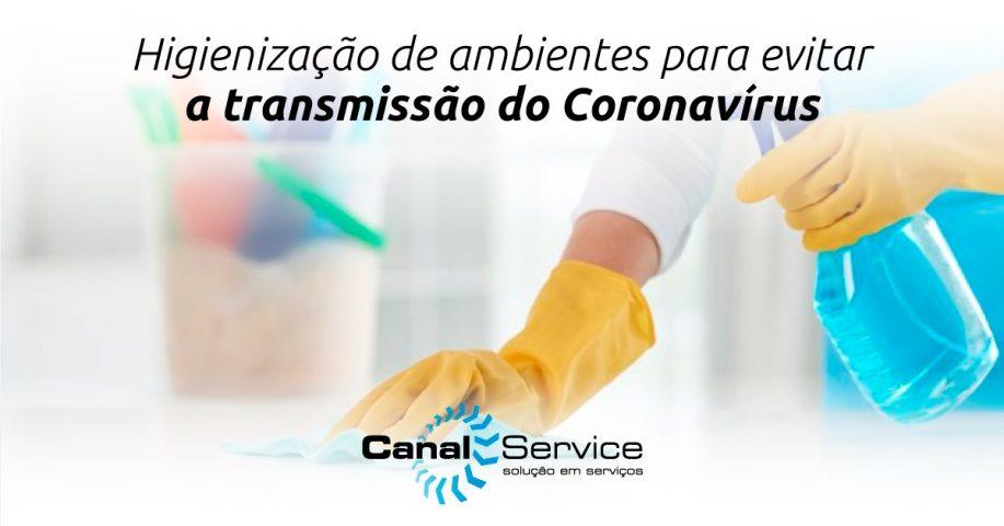 higienização de ambientes coronavírus