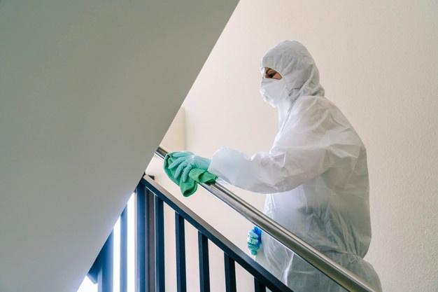limpeza profissional pandemia